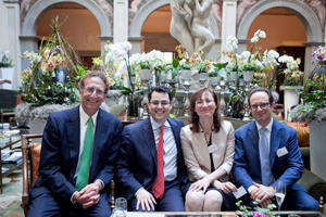 From left – right: Sam Bronfman (Co-Founder and Managing Partner, Bacchus Capital, Gabriel Monzon-Cortarelli (Of Counsel, Withers New York), Roberta Crivellaro (Managing Partner, Withers Milan) and Anthony Indaimo (Chairman, Withers Milan).