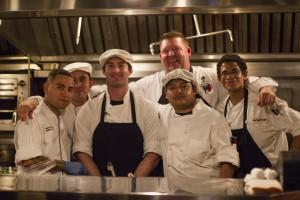 EGP Chef Team. Executive Chef Steve Cain in back sm