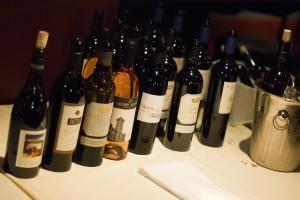 Legacy Dinner Wine Lineup