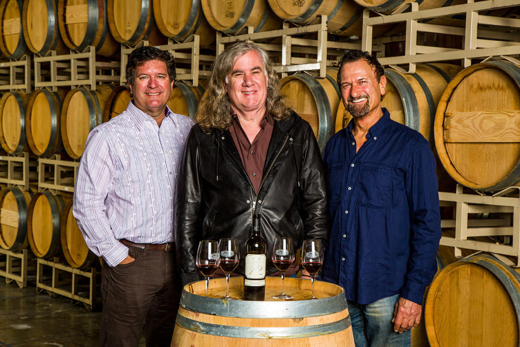 Greg Lill, Chris Upchurch, Jay Soloff DeLille Cellars Founders