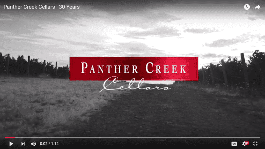 panther creek video screen shot