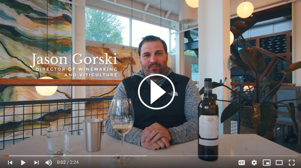 DeLille Cellars Winemaker Jason Gorski on YouTube